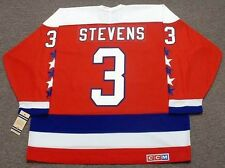 SCOTT STEVENS Washington Capitals 1988 CCM Vintage Throwback NHL Hockey Jersey
