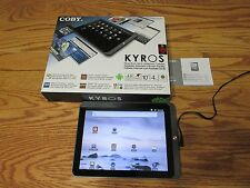 Coby Kyros MID1126 Android 2.3 4GB, Wi-Fi, 10.1in-Touchscreen Tablet Black-EUC