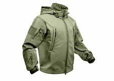 OD GREEN Special OPS Tactical Soft Shell Jacket w/Waterproof Shell 9745 S TO 5X