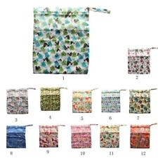 New Washable Reusable Cloth Waterproof Carry bag Diaper Bag Baby Wet Nappy Bag