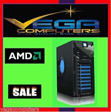 AMD 8 Core FX8350 4.0GHz (4.2G) Desktop Gaming PC, 8GB Ram 1TB HDD, Nvidia
