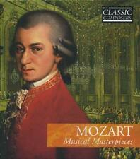Mozart: Musical Masterpieces (CD, Classic Composers) + Booklet