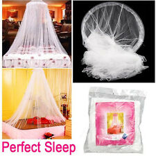 Lace Bed Mosquito Netting Mesh Canopy Curtain Princess Round Dome Bedding Net