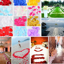 500pcs Rose Petals Wedding Flowers Petals Simulation Of Petals Hand And Flowers