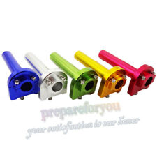 CNC Aluminum Twist Throttle For Street Motorcycle Monkey Dirt Bike Moped Scooter