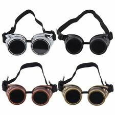Goggles Cyber Steampunk Glasses Vintage Retro Welding Punk Gothic Victorian DP