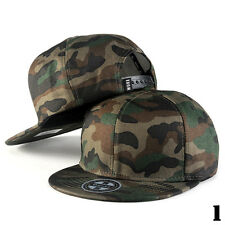 Fashion Men Women Baseball Cap Adjustable Snapback Sport Hip-Hop Camouflage Hats