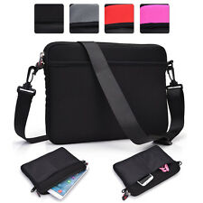 Universal 9 - 10.1 Inch Tablet Sleeve and Shoulder Bag Case Cover 2-in-1 NDSC-5