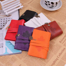 New  Women's  Retro Vintage  Leather Wallet ID Credit Card Holder Pocket Bags