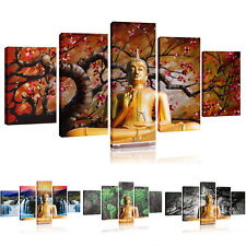 No Frame BUDDHA Modern Wall Home Decor Art Oil Painting On Canvas Abstract Large