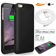 """Light Compact Power Battery Charger Case iPhone 6 /6s plus 5.5""""  Apple USB Cable"""