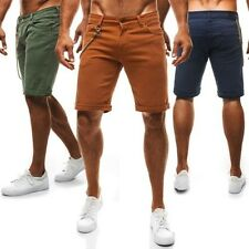 OZONEE SNATCH 002 Men's Jeans Pants Denim Shorts Bermuda Shorts Clubwear Sports
