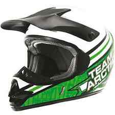 Arctic Cat™ SnoPro MX Sno Cross Green Snowmobile & ATV Helmet - Youth - 5242-44_