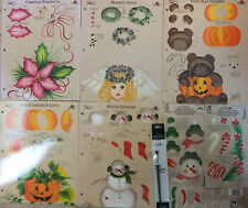 Donna Dewberry One Stroke Painting Holidays & Seasons RTG Worksheet U PICK