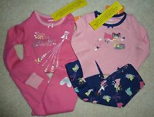 NWT Gymboree Pajamas Gymmies Supergirl Superkitty Every Girl Is A Super Hero 3 4