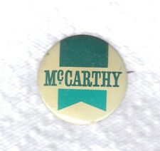 Vintage 1968 Eugene McCarthy Presidential Campaign Political Pin Back Button