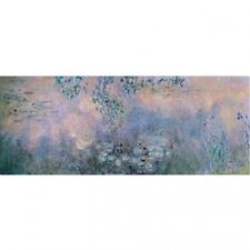 "Trademark Fine Art ""Water Lilies"" 1914-22 Canvas Art by Claude Monet. Best Price"