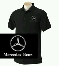 MERCEDES BENZ POLO SHIRT PERSONALISED EMBROIDERED LOGO POLO SHIRT TEE SHIRT
