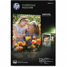 HP Everyday Glossy Photo Paper, 24kg, 10cm x 15cm , 50 Sheets/Pack. Delivery is