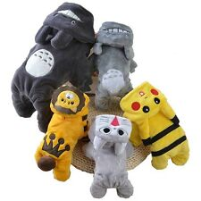 NEW Dog Puppy Cat Pet Hoodie Costume Jacket Apparel Coat Clothes Pikachu Sweater
