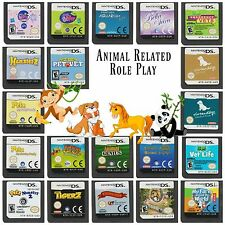 Multi✿ Nintendo DS DSi XL 2DS 3DS ●● PETS & ANIMALS Role-Playing Games ●●