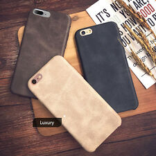 Hot Luxury Ultra-thin PU Leather Back Skin Case Cover For Apple iPhone 7 6S Plus