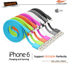 3 x MFI Lightning Sync Cable For iphone ipod ipad 2.4A Dual Port USB Car Charger