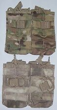 Condor MA43 5.56mm Double STACKER Mag Pouch Magazine MOLLE A-TACS MULTICAM 223