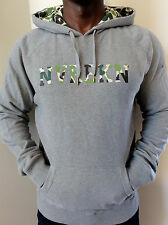 100% AUTHENTIC MENS DC SHOES TROOPER HOODIE SIZE M GREY