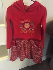 Girls Oilily Hooded Dress 6