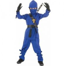 Blue Ninja Child Halloween Costume. Brand New