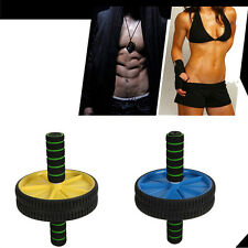 Home Fitness Abdominal wheel +Mat Aerobic Exercise Abdominal Core Strength
