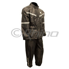 Motorcycle Rain Suit 2pc Wet Weather Gear Pants Jacket Rain Wear