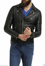 New-Mens-Leather-Jacket--Real-lambskin Leather Jacket