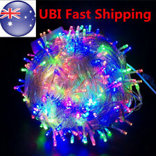 Colorful 100-800 LED Fairy String Lights Christmas Tree Party Wedding Xmas