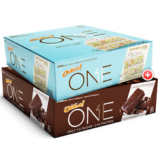 Oh Yeah! 2 x BOX OF ONE BARS *24 Protein Bars* High Protein Low Sugar Bar!