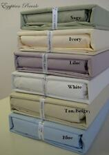 Percale 800 Thread Count Sheet Set Egyptian Cotton (Deep Pocket) -ALL SIZES