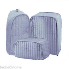 NEW Ritz Quilted Solid Light Blue Appliance Cover