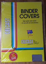 NEW A4 Clear Binding Cover Binder Front 10 / 20 / 100 Sheets FREE POSTAGE