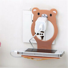Animal Mobile Cell Phone Holders Folding Wall Charging Station Stand Optimal New