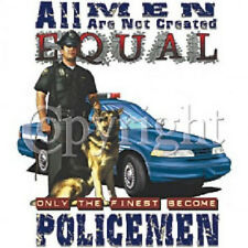 All Men Are Not Created Equal Policemen T-SHIRT 9-11 (43)