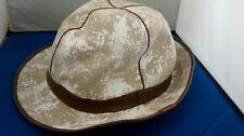"""KANGOL """"Muslin & Gesso Quattro"""" Camel w/White *Brand-new with the original tags*"""
