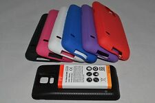 6500mAh Extended Battery + TPU Silicone Case for Samsung Galaxy S5 SV i9600 G900