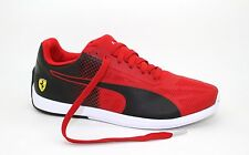 Mens Puma Ferrari Motorsport Evo SPEED Sock SF Sneakers Shoes Red, Black  NEW