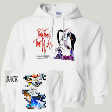 """PINK FLOYD The Wall Tour 1980 """"Nassau NY"""",White Hoodie/Pullover,T-1071WhtHOOD"""