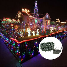 200-400 LED Available Christmas Tree Xmas Party Green String Fairy Lights Decor