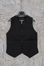 PAUL HARNDEN SHOEMAKERS WOMEN'S DOWN FILLED BLACK COTTON JERKIN VEST JACKET S,M