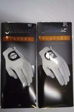Titleist 2 of New Players LH Gloves for RH Players, 2 of Players Gloves - All SZ