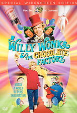 WILLY WONKA & THE CHOCOLATE FACTORY-Gene Wilder-pristine DVD-WIDESCREEN