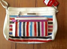 RELIC Caraway Collection Purse and Wallet Combo STRIPES  New!